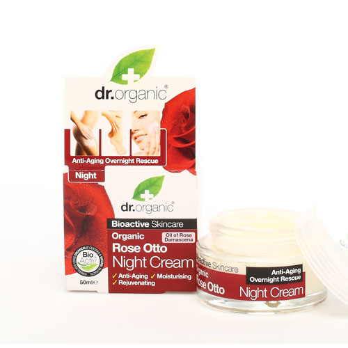 DR. ORGANIC Rose Otto Night Cream 50 ml