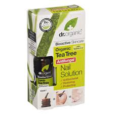 DR ORGANIC TEA TREE NAIL SOL