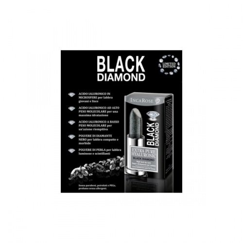INCAROSE Black Diamond Stick Labbra