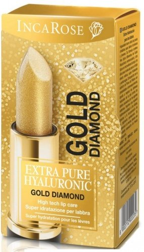 INCAROSE Extra Pure Hyaluronic Stick Labbra Idratante Gold Diamond 4ml