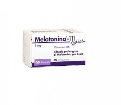 MARCO VITI FARMACEUTICI Melatonin Retard 1 Mg 60 Compresse