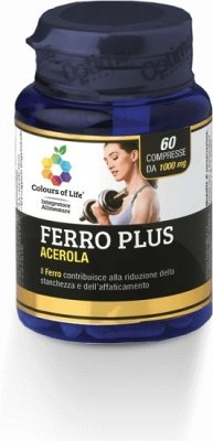 OPTIMA Colours Of Life Ferro Plus 60 Compresse 1000 mg