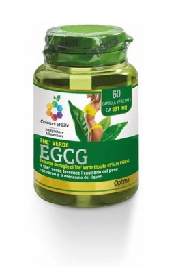 OPTIMA Colours Of Life The' Verde Egcg 60 Capsule