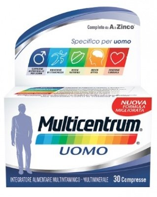 PFIZER Multicentrum Uomo 30 Compresse