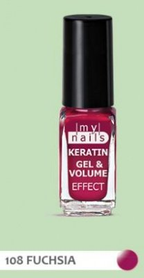 PLANET PHARMA My Nails Keratin Gel & Volume 108 Fuxia
