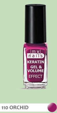 PLANET PHARMA My Nails Keratin Gel & Volume 110 Orchid 5 ml