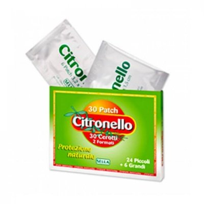 SELLA Citronello 30 Cerotti All'Essenza Di Citronella