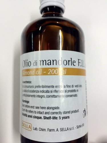 SELLA Olio Di Mandorle 200 ml