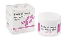SELLA Pasta All'Acqua Con Zinco 25 % 100 ml