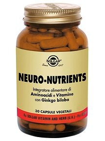 SOLGAR Neuro-Nutrients 30 Capsule Vegetali