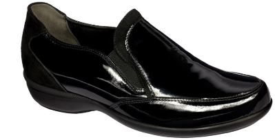 DR. SCHOLL Flory Leather Womens Black Mis 40